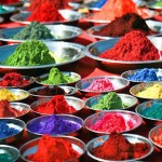 Colorful-tika-powders-on-indian-market